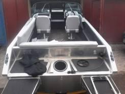 Продам новаю алюминиваю лодку Волжанку 46 фиш