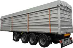 Steelbear. Полуприцеп зерновоз 64м3 высокие борта , 38 500кг. Под заказ