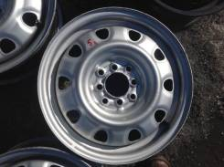 Диск колеса R15 4-100/ 4-114.3 5,5J ЦО 68 штамповка