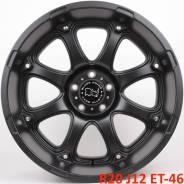 Новые! Black Rhino Glamis R20 J12 ET-46 5X127 черный [2908]