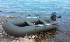 Надувная лодкa ПВХ Pelican-280M моторно-гребная