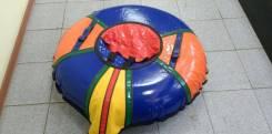 Тюбинг, санки-ватрушки из прочного ПВХ, Ф 85 см, новый, в упаковке