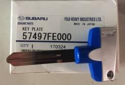 Заготовка ключа зажигания STI Subaru 57497FE000 оригинал