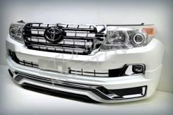 Рестайлинг Land Cruiser 200 07-15г. + Modellista Ver.2 стиль 2017~