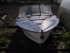 Лодка в хорошем состоянии с документами установлена лебёдка рулевое