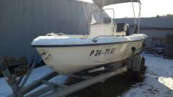 Продам Рыбацкий Катер SEA-PRO170СС с мотором 60(4хтакт) + Телега