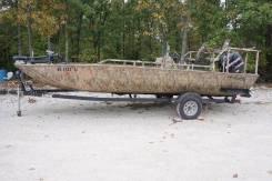 Алюминиевая лодка Lowe 2070 CC Roughneck