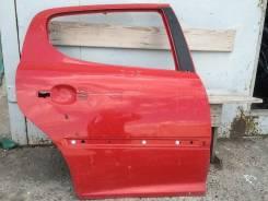 Peugeot 207 дверь задняя правая