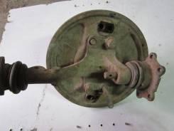 Ступица передняя с поворотным кулаком (барабанная) москвич-403