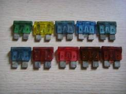 Предохранители комплект Toyota 7.5A, 10A, 15A, 20A, 30A
