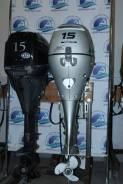 Лодочный мотор Honda 15 нога L без пробега только из Японии в отл сост