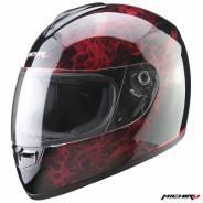 Шлем (интеграл) MI 136 Flame Red (Размер XL) Michiru