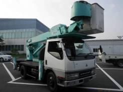 Mitsubishi Fuso Canter. Автовышка Mitsubishi Canter, 5 200куб. см., 12,00м. Под заказ