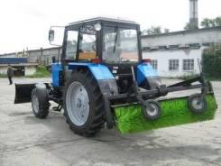 Услуги трактора с щёткой