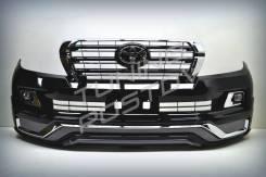 Решетка Executive Black Land Cruiser 200 07-15г. в стиле 16+