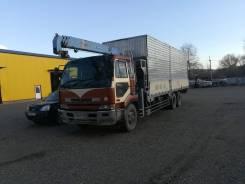 Услуги грузовика(15т кузов 8,5м) с манипулятором(3т)