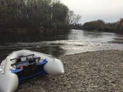 Продам надувную моторную лодку с бронированным дном Solar 400