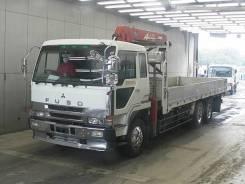 Mitsubishi Fuso. Бортовой грузовик с манипулятором Mitsubishi FUSO, 16 000куб. см., 6x4. Под заказ