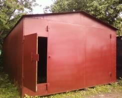 Сдам металлический гараж в краснообске (васхнил)