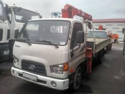 Hyundai HD78. + кму Kanglim KS7 2013 г. в., пр. 44 000 км.1 200 м. ч., 3 933куб. см., 4x2