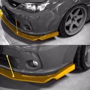 Сплиттер LION'S KIT переднего бампера Subaru Impreza WRX STI GR