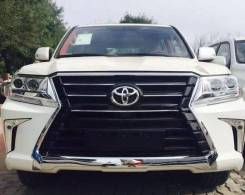 Обвес Toyota Land Cruiser 200 2016г (стиль Lexus LX570 2016)