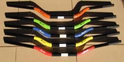 Руль толстый 28,6 зелено черный Accel CTH-06