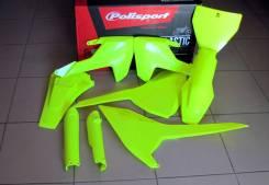 Комплект пластика Polisport Husqvarna TC125; FC250/350/450 (16-->) FLO YELLOW 90741