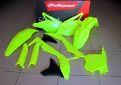 Комплект пластика Polisport Kawasaki KX450F(16-->) FLO YELLOW 90744