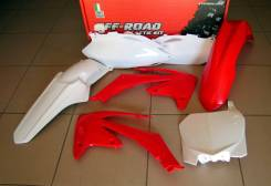 Комплект пластика R-Tech Honda CRF250usa10-13/CRF450usa 09-12 красно-белый R-KITCRF-OEM-513