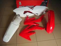 Комплект пластика R-Tech Honda CRF450X 08-17 (R-KITCRX-OEM-415) красный-белый