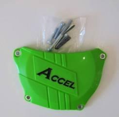 Защита крышки сцепления Accel CCP-301 Green Clutch Cover Protector KX250F 09-15
