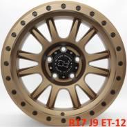 Новые! Black Rhino Tanay R17 J9 ET-12 5X127 5 дисков [2754]