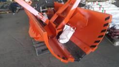 Отвал гидравлический комунальный с резиной 2,5м на МТЗ