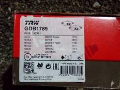 Колодки тормозные передние, комплект Lucas/TRW [GDB1789]