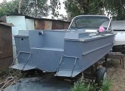 """Модернизация катеров """"Амур-М"""", """"Амур-Д"""", под подвесной двигатель."""