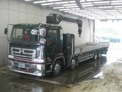 Hino Profia. Бортовой грузовик с манипулятором HINO Profia, 13 000куб. см., 6x4. Под заказ