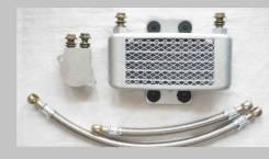 Радиатор охлаждения масла Honda CRF450 Отправка по РФ