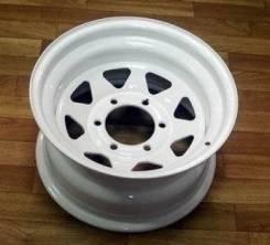"""Steel Wheels. 8.0x15"""", 5x139.70, ET-20, ЦО 108,7мм."""