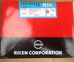 Кольца поршневые 8DC11 RIK 20047, ME090586, ME0999990 комп Mitsubishi Fuso