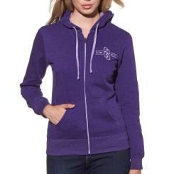 Толстовка женская Thor Fleece S15W masrlink размер: S фиолетовый 3051-0729