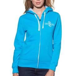 Толстовка женская Thor Fleece S15W masrlink размер: S голубой 3051-0733