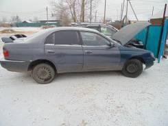 Стекло боковое заднее, правое Toyota Corona, ST190
