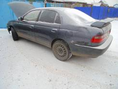 Стекло боковое заднее, левое Toyota Corona, ST190