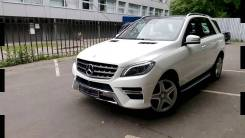 Mercedes-Benz M-класс 2014 г (W166) бампер Мерседес