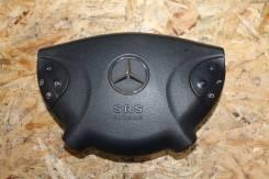 SRS в руль черная кожа Mercedes-Benz w211 E-class