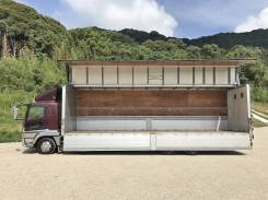 Mitsubishi Fuso. Грузовой фургон , 7 540куб. см., 10 000кг., 6x4. Под заказ