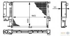 Радиатор BMW 3-Series E30 1.6 82-90/BMW E36 1.6/1.8/2.0/2.5