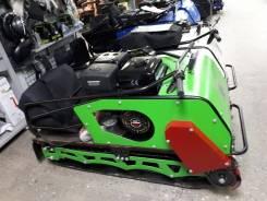 Мотобуксировщик БТС зеленый Стандарт 500/15 (склизовая подвеска,3Ампера/ 36 Ватт), Мото-Тех, 2020