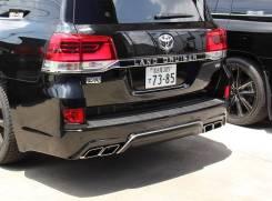 Задний Бампер Double Eight Toyota Land Cruiser 200 2016+